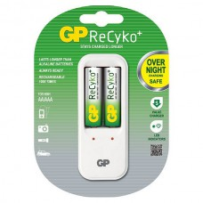 GP Recyko+ PB410 Overnight charger, Incl. 2xAA 2000mAh